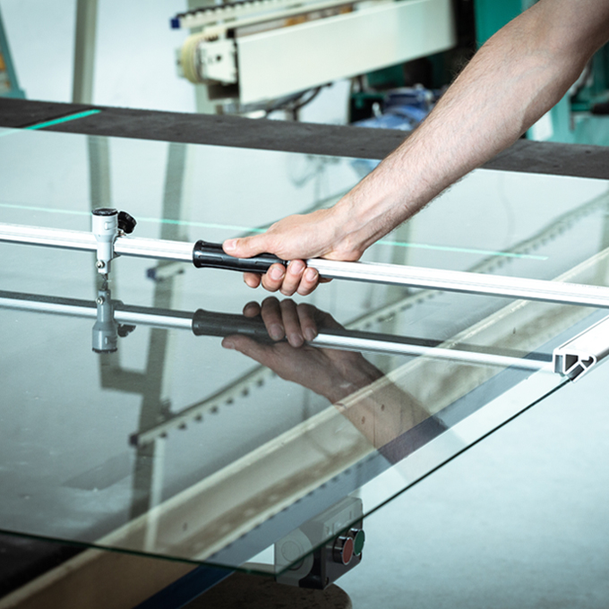 Kaschwig Anwendungsbeispiel Glasindustrie