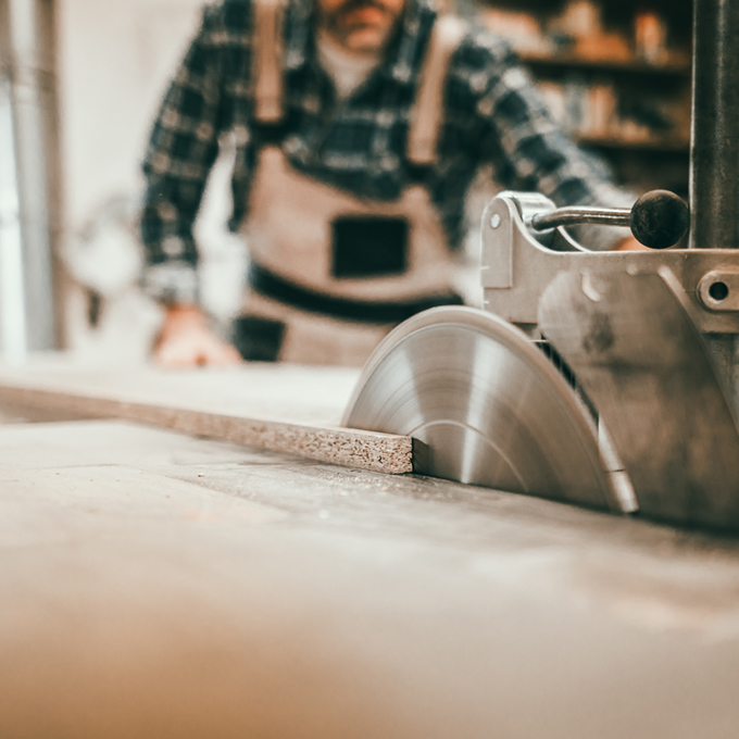 Kaschwig Anwendungsbeispiel Holzverarbeitung